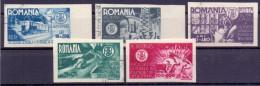 Rumänien Mi. 908-912 Gest. - Ansehen!! - 1918-1948 Ferdinand, Charles II & Michael