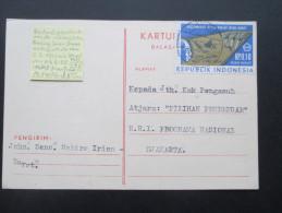 Indonesien 1969 Provinz Irian Barat Michel Nr. 21 West Irian. Bedarf!! Nabire. Seltene Verwendung!! - Indonesien