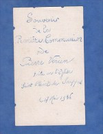 Faire Part De Communion - SOUPPES Sur LOING ( Seine Et Marne ) - Pierre VERIEN - Le 17 Mai 1936 - Comunión Y Confirmación