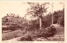 Cendras - Vieille Route De La Blaquière Et Le Puech - Saint-Ambroix