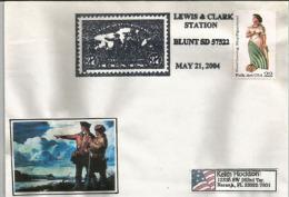 La Conquète De L´Ouest Américain (Servie Postal Du Pony Express En 1860 Entre La Californie Et Le Missouri) - Post