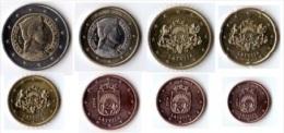 LETTONIE 2014 SERIE EURO 8 MONNAIES SUP - Letonia