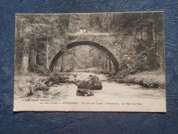 Gerardmer  Du Saut Des Cuves à Kichompré  Le Pont Des Fées - Animée - Ed. Cuny 291 - écrite 1916 - L233 - Gerardmer