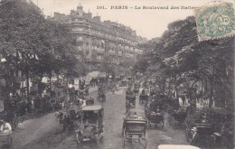 PARIS ( 75 )  Le Boulevard Des Italiens - Zonder Classificatie