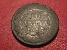 Grèce - Greece - 10 Lepta 1837 6350 - Grecia