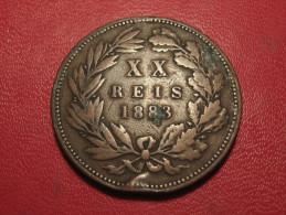 Portugal - 20 Reis 1883 Luiz I 6471 - Portugal