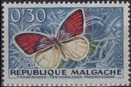 MADAGASCAR 341 ** MNH Papillon Butterfly Schmetterling Vlier - Madagascar (1960-...)