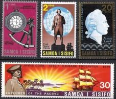 Samoa 1970 Yvertn°  266-69 ***  MNH Cote 10 Euro Cook - Samoa
