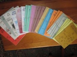 LES FEUILLES MARCOPHILES - Lot 45 Magazines - Voir Scannes - De 1979 à 2000 + 1 De 2009 - Francese