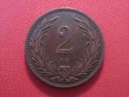 Hongrie - Hungary - 2 Filler 1898 KB 6698 - Hungary
