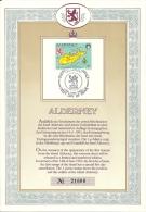 Alderney FDC 1983 / Guernsey - Alderney
