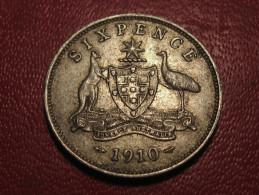 Australie - Australia - 6 Pence 1910 Edward VII 6388 - Moneta Pre-decimale (1910-1965)