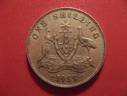 Australie - Australia - Shilling 1935 George V 6438 - Monnaie Pré-décimale (1910-1965)