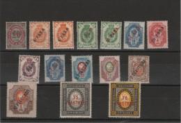 Levant - Timbres De Russie _ N°25/35 (1900)