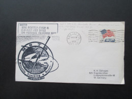 USA / Hawai 1966 USNS Richfield (T-AGM 4) Fleet Post Office. MSTS. Missile Tracking Recov. Kwajalein Hawai. - Hawaii