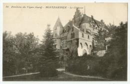 CPA  GARD - 30 - Montdardier - Le Château - Frankreich