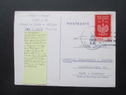 USA / Guam 1966 USS Guam LPH 9 Fleet Post Office. Postcard - Guam