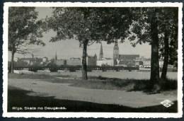 Riga, Skats No Daugavas, - Lettland