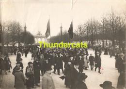 GRAND PHOTO 1924 VILLE DE BRUXELLES FOIRE COMMERCIALE - Orte
