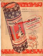 59 - ORCHIES - PROTEGE CAHIER CHICOREE EXTRA LEROUX - TABLE MULTIPLICATION  CALCUL - Buvards, Protège-cahiers Illustrés