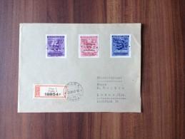 Einschreiben   ***   Drittes Reich  /  1943 - Böhmen Und Mähren   *** - Covers & Documents