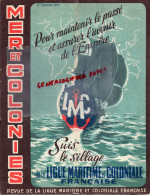 MER ET COLONIES - REVUE LIGUE MARITIME ET COLONIALE- 1943- SURCOUF- MONTEIL- CHASSE HIPPOPOTAME -HYDRAVION- - Books, Magazines, Comics