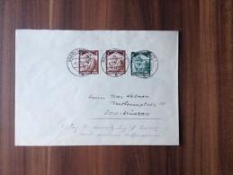 Brief    ***   Drittes Reich  /  1936  - Die Front Kehrt Heim  *** - Covers & Documents