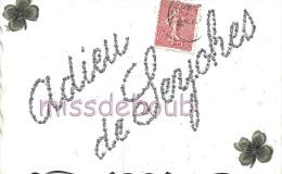47 - SEYCHES - ADIEU De SEYCHES - Paillette 1906   - 2 Scans - Autres Communes