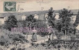 47 - SEYCHES - Le Chateau - Potager - 1909 - 2 Scans - Autres Communes