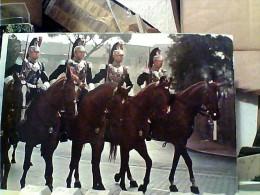 MILITARI CARABINIERI GUARDIE DEL PRESIDENTE DELLA REPUBBLICA CORAZZIERI A CAVALLO,HORSE N1975  FC6989 - Polizia – Gendarmeria