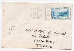 Nouvelle Calédonie - PA N°200 Seul Sur Lettre Pour La France 1980 - Nouméa à Donzy - Luftpost