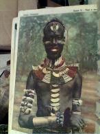 MISSIONI Africa Cristaina - Serie II- GIOVANE DENKA GIOVANOTTO SUDAN N1940  FC6995 - Missions