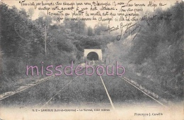 47 - LAROQUE - Le Tunnel - 1905 -   2 Scans - Autres Communes