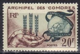 Comores N° 26 ** Gomme Altérée à Moins De 20% De La Cote - Isole Comore (1950-1975)