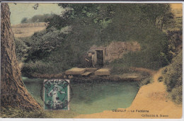 94 CPA Coeuilly - La Fontaine - Colorisée - France
