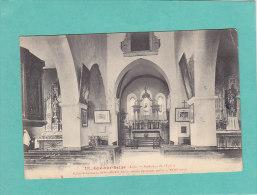 CPA - GYE Sur SEINE - 18. Intérieur De L'église - Eglise St Germain - écrite Et Timbrée - France