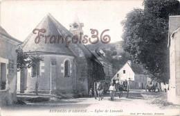 (37) Environs D'Amboise - Eglise De Lussault - Attelages - 2 SCANS - Autres Communes