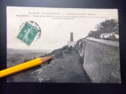 BELFORT Tour De La Miotte  GUERRE EUROPEEN  HAUTE ALSACE 1914 -1915 CPA Circulée 1916 - Belfort - Ciudad