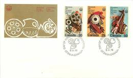1976  Montreal Olympics  Cultural Program  Sc 684-6 - Premiers Jours (FDC)