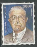 Polynésie Française, Yv 834 Année 2008, Haute Valeur,  Oblitéré, Voir Scan - Used Stamps