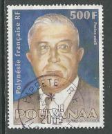 Polynésie Française, Yv 834 Année 2008, Haute Valeur,  Oblitéré, Voir Scan - Polynésie Française