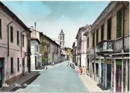 Lombardia-rho-rho Veduta Via Madonna Anni 50/60 - Rho