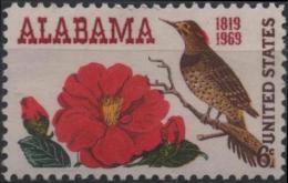 ETATS-UNIS USA  878 ** MNH Etat Alabama : Camélia Et Pie Dorée - United States
