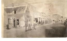 J-CURACAO(PERU) VIA DELLA CITTA-FOTO ORIGINALE ANIMATA 1926 - Peru