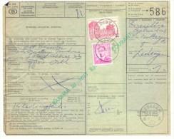 084 BELGIE Spoorwegen Document  Stempel Met LEDEGEM - 1952-....