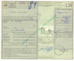 104 BELGIE Spoorwegen Document  Stempel Met OOSTENDE - 1952-....