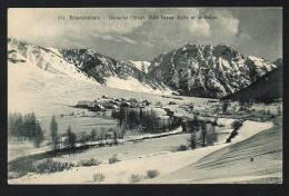 DF / 05 HAUTES ALPES / NEVACHE L' HIVER, VILLE BASSE, SALLE ET LE GUION - France