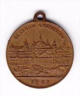 1901 Glasgow Exhibition Medal - Professionnels/De Société