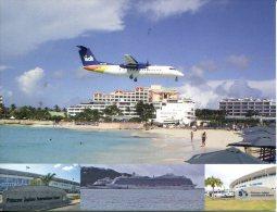 Sint Martin (Ile Saint Martin) Airport - Aéroport -  Princess Juliana International Airport - Aérodromes
