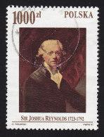 POLAND - Scott #3071 Selfportrait Of Sir Joshua Reynolds / Used Stamp - Used Stamps
